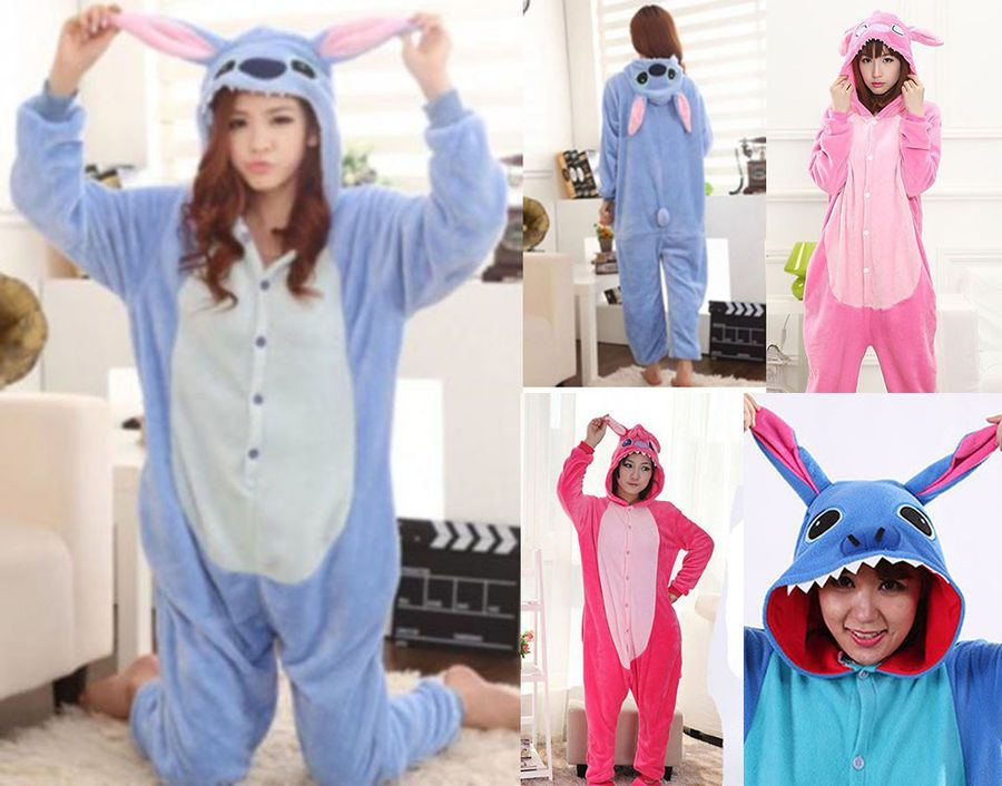 sito ufficiale qualità affidabile scarpe sportive Pigiama kigurumi stitch costume carnevale adulti cosplay animali ...