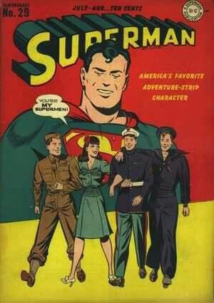 Superman vol 1 29 world war 2 cover superman supergirl superboy superman vol 1 29 world war 2 cover altavistaventures Gallery
