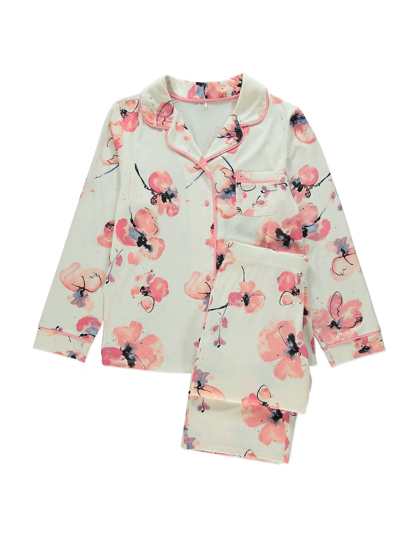 Floral Print Pyjamas Women at ASDA Pajamas
