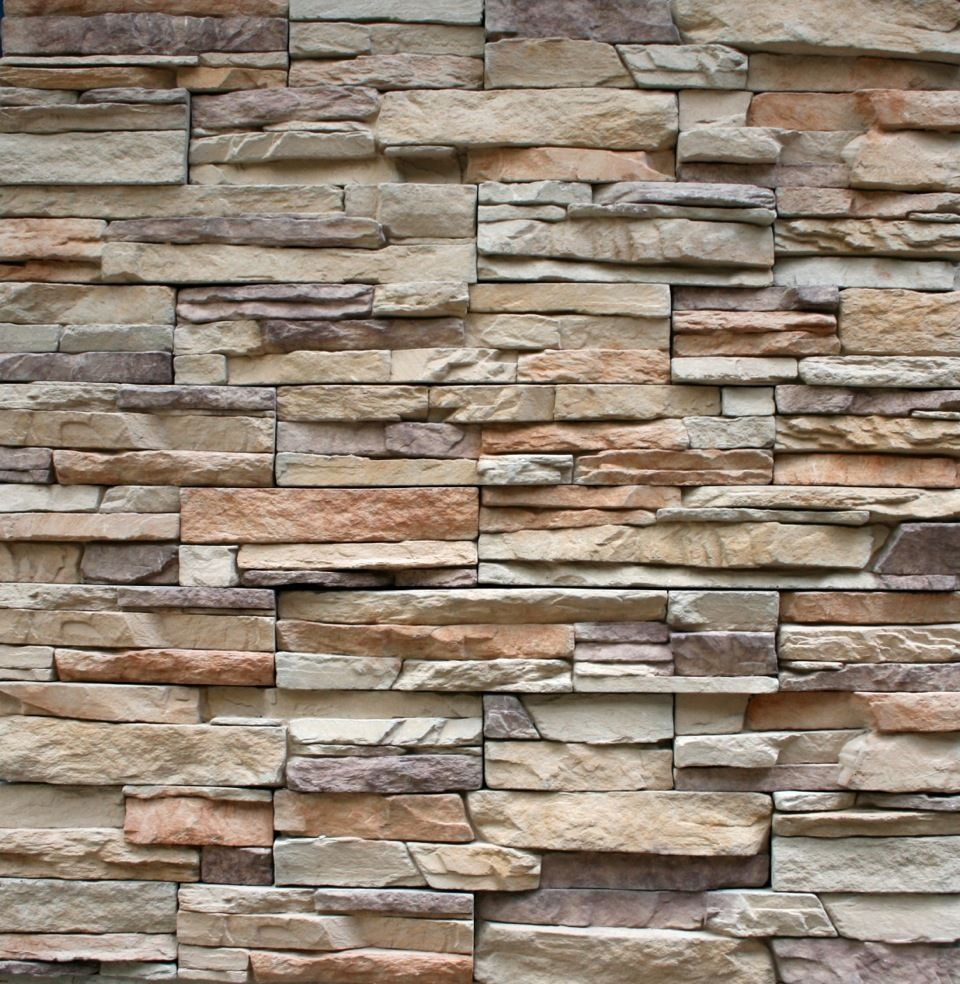 Ledgestone cultured veneer stacked stone manufactured for Brick and stone veneer