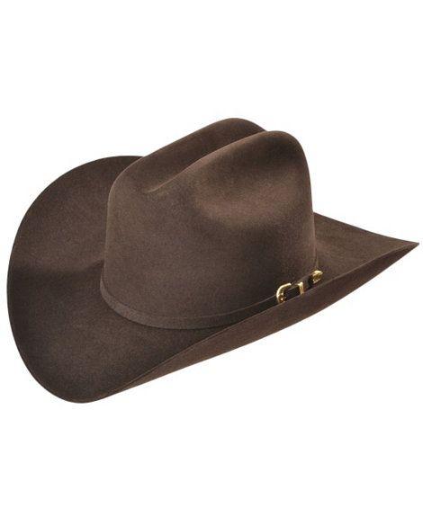 bc1f4ca9ac78a Larry Mahan Chocolate Reno 6X Fur Felt Cowboy Hat