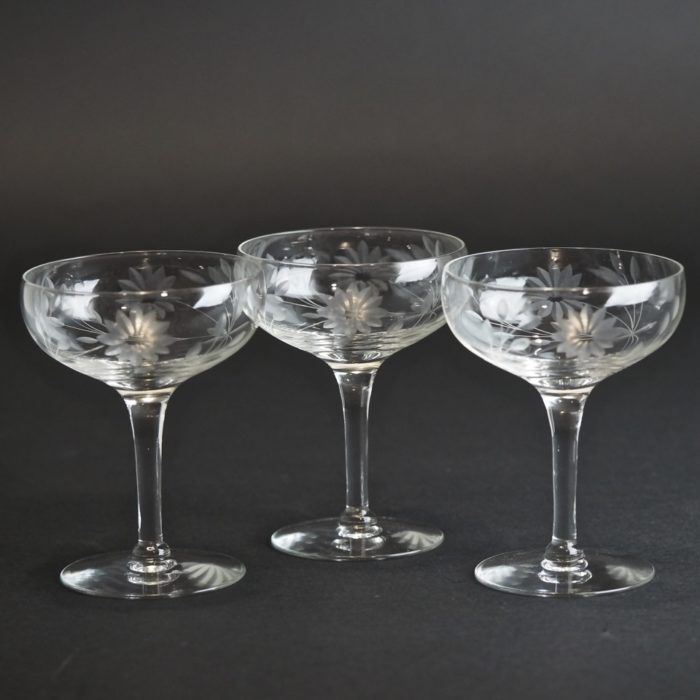 Pin On Champagne Coupes Saucers