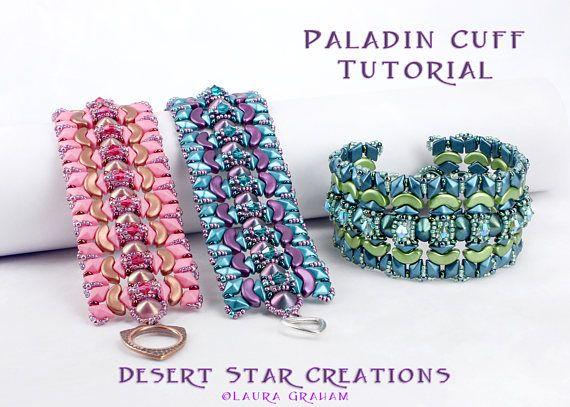 8668a8895b Paladin Cuff Bracelet Tutorial Tipp Arcos Par Puca Βραχιόλια Με Χάντρες