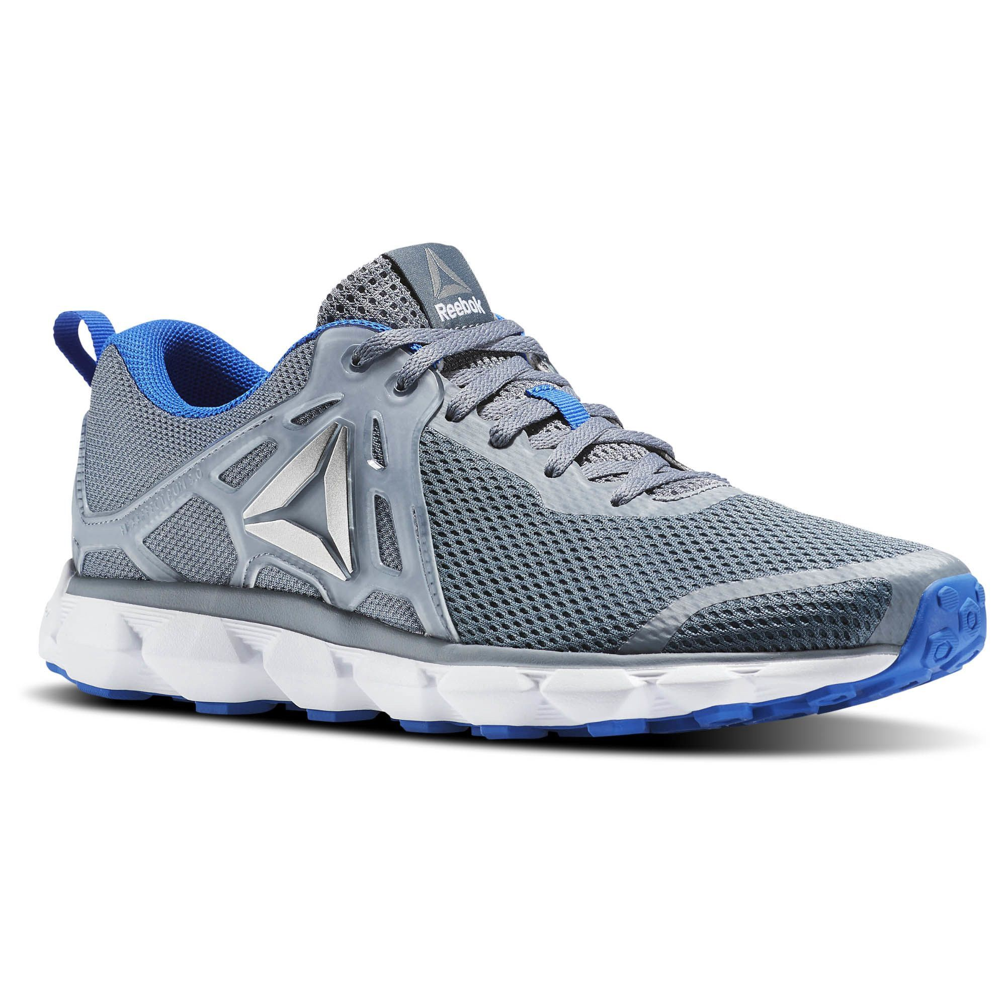 new official select for clearance Reebok Hexaffect Run 5.0 Mtm - Asteroid Dust / Vital Blue ...