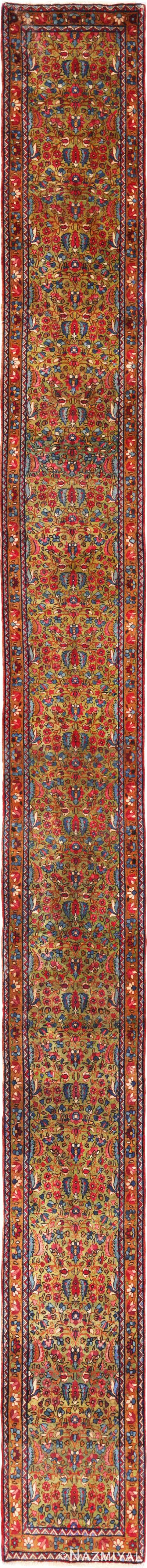 Beautiful Antique Persian Kerman Runner Rug 70165 By Nazmiyal Rug Runner Rugs Antique Runner