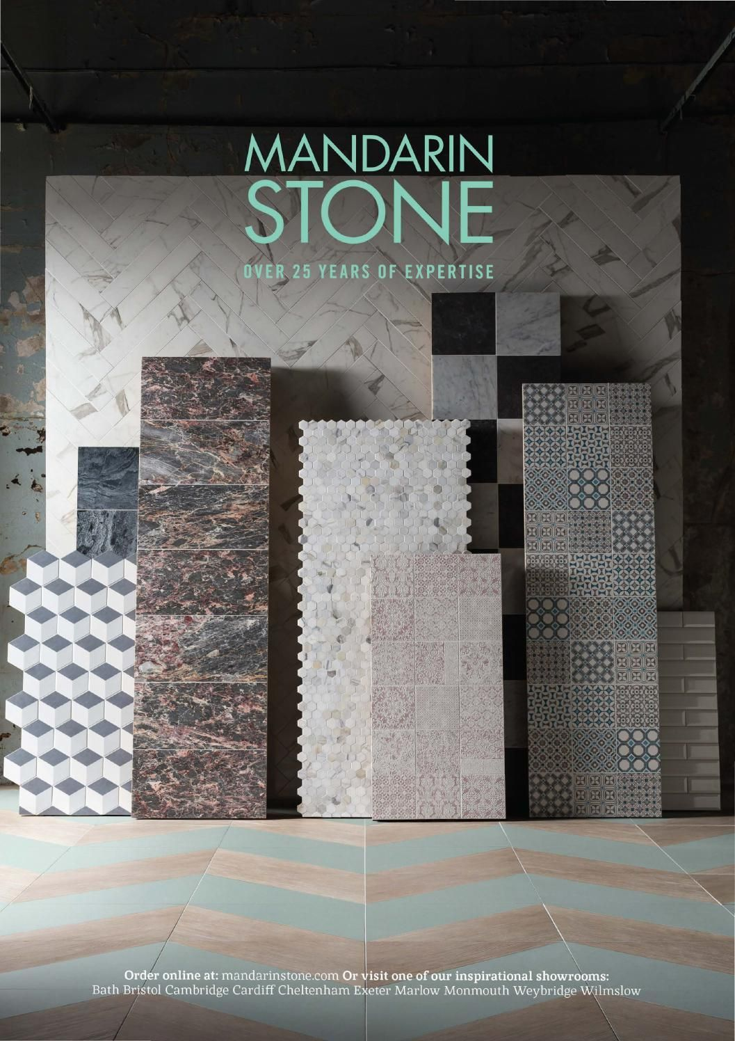 mandarin stone are one of the largest suppliers of natural stone porcealin and decorative tiles and flooring