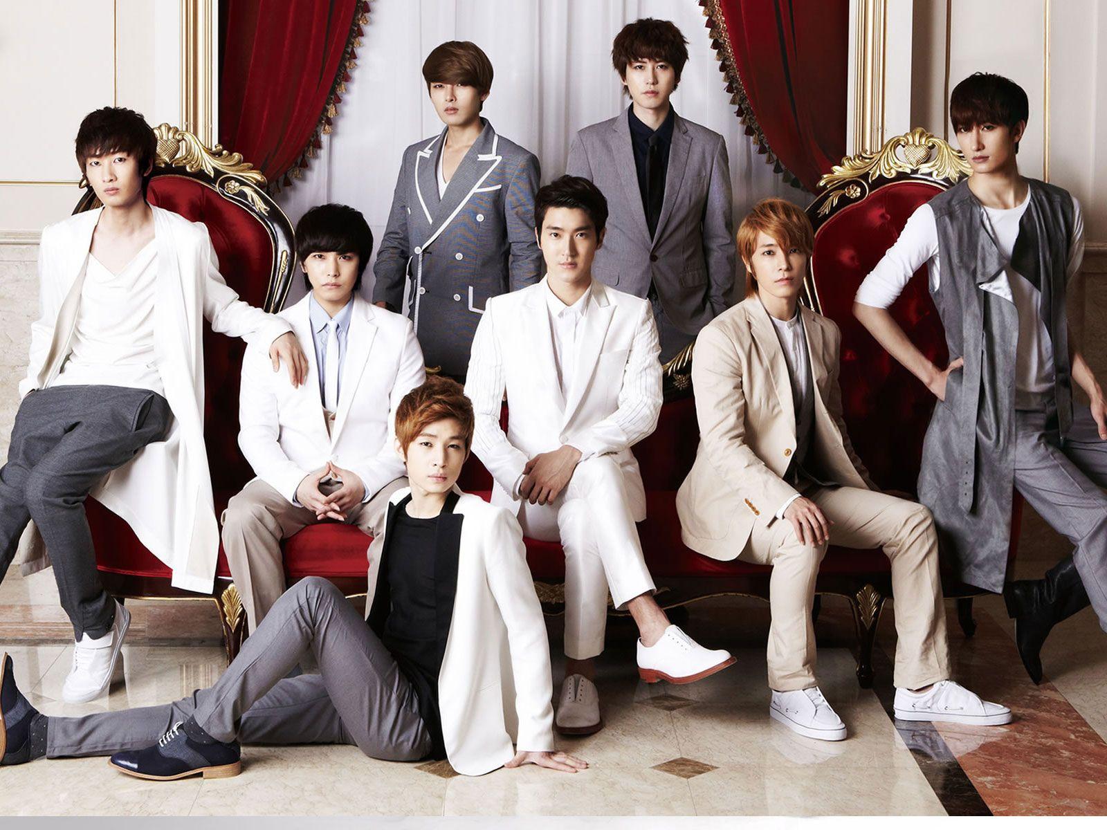 Super Junior Cool Hd Wallpaper Super Junior Eunhyuk Leeteuk