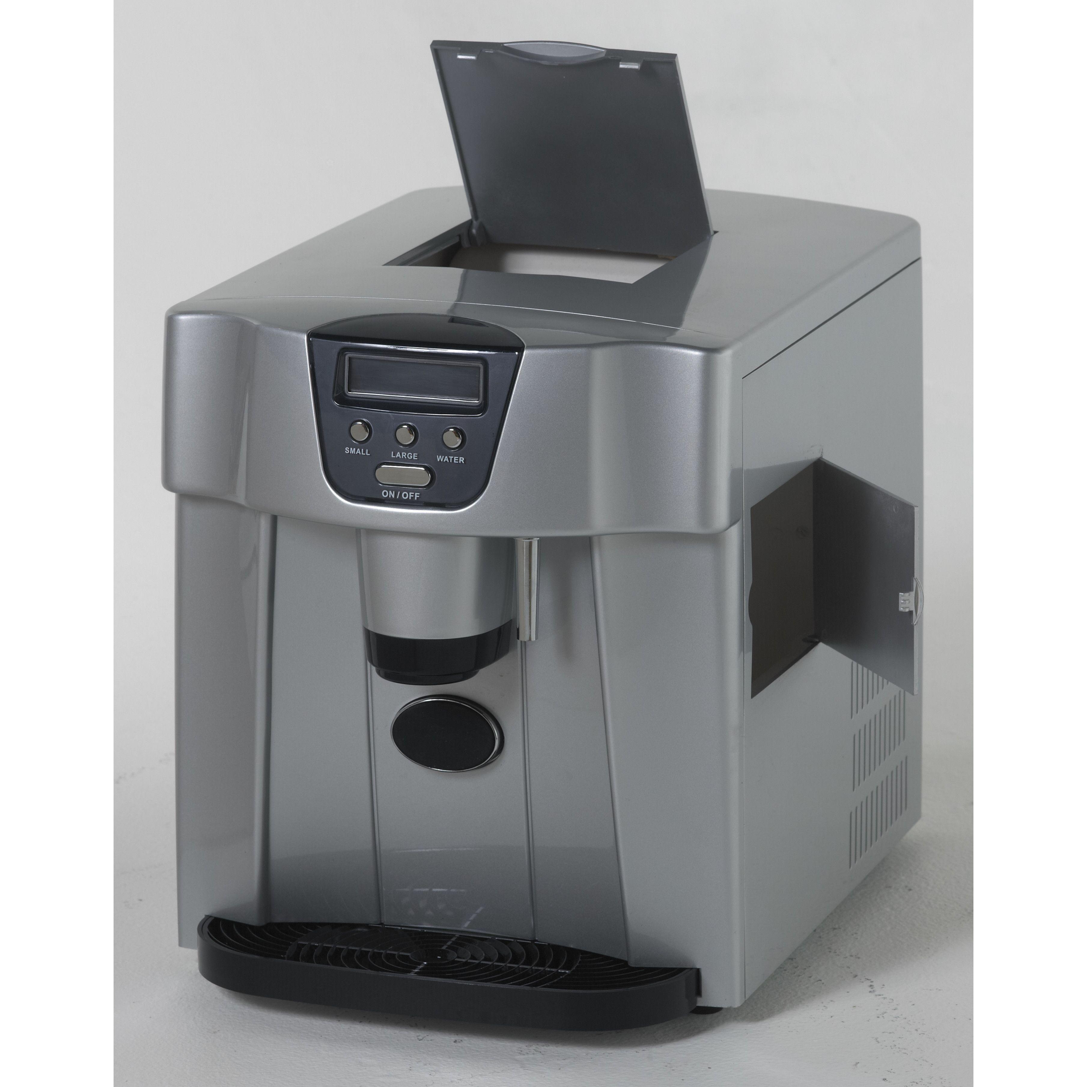 "Avanti Products 12.25"" W 25 lb. Freestanding Ice Maker"