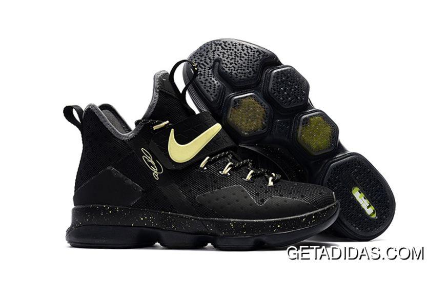 Nike Lebron 14 Black Gold TopDeals