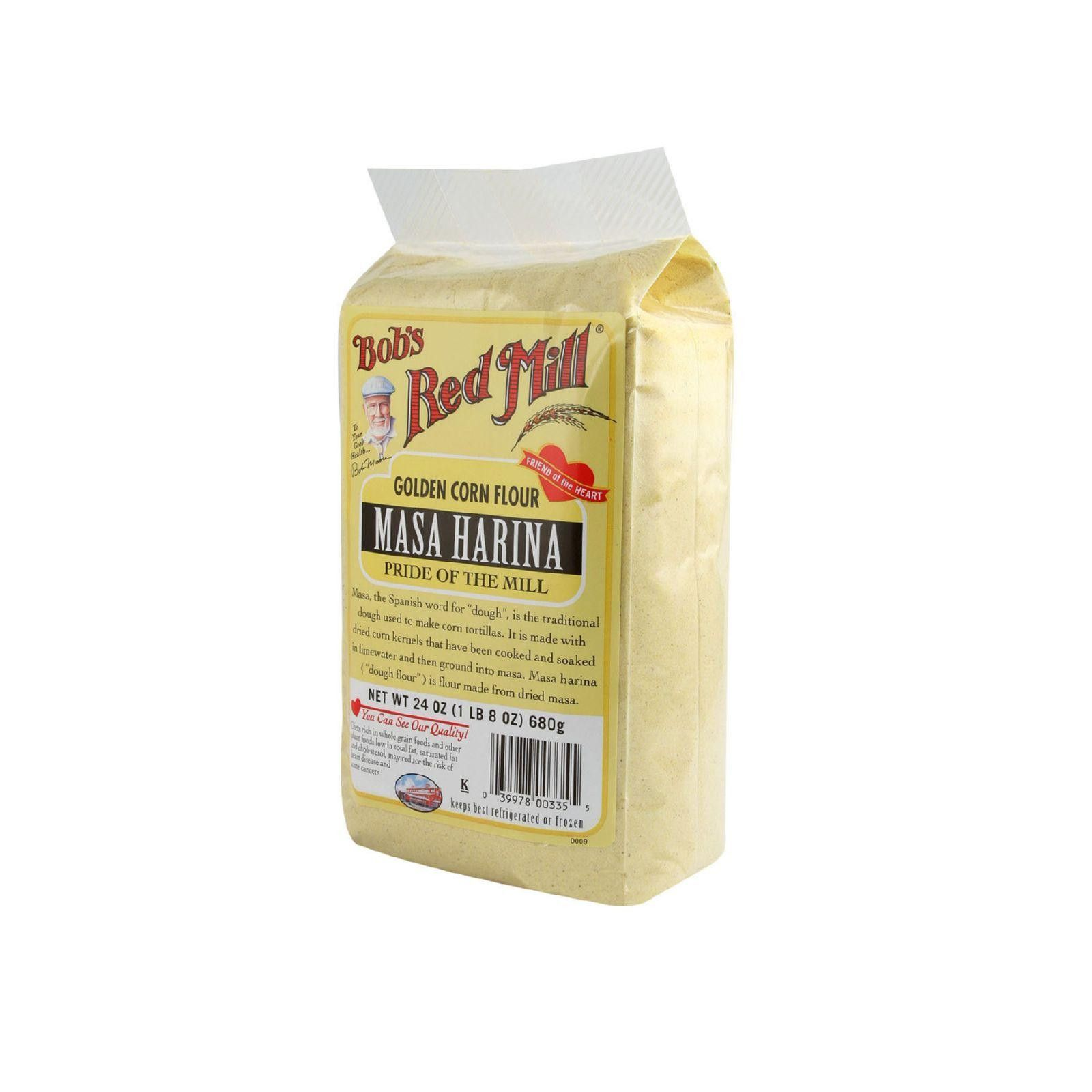 Bob's Red Mill Golden Masa Harina Corn Flour 24 Oz