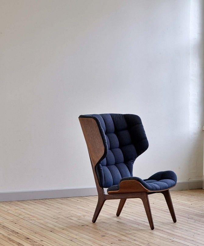 Lounge Stoel Met Muziek.Norr11 Mammoth Chair Fluffy Lounge Stoel Divany I Kresla