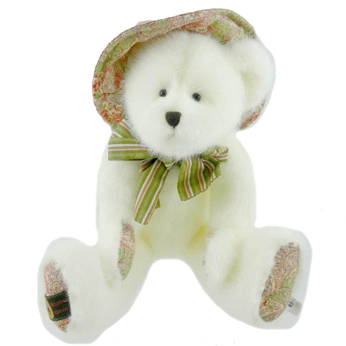 Teddy bear toys images  Olivia Sue Paisley Easter u Spring Teddy Bear  Products  Pinterest