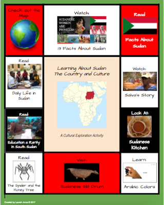 Part 5 in this FREE Refugee Reading Series is a multimedia text set about Sudan. Designed for upper elementary and middle school students.
