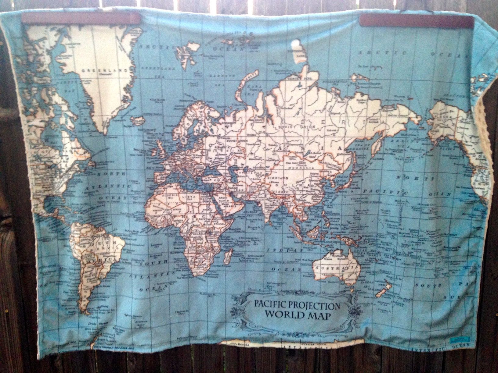 World map minky blanket double sided minky baby cuddle blanky world map minky blanket double sided minky baby cuddle blanky wheelchair lap gumiabroncs Images