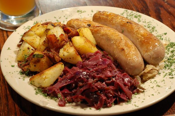 Traditional German dinner | European Foods | Pinterest ...