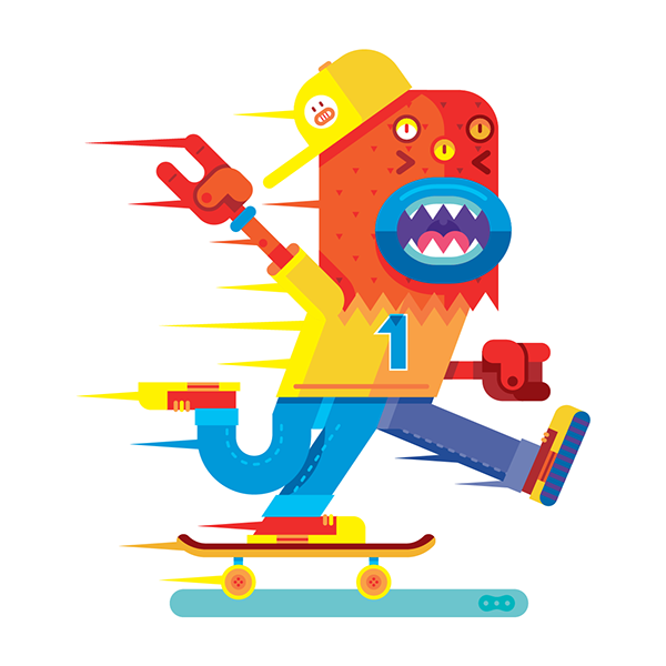MONSTER OFFICE PROJECT 3 on Behance
