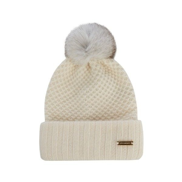 1c2d18cccc8 Burberry Prorsum Fur-pompom wool and cashmere-blend beanie hat (565 BGN)