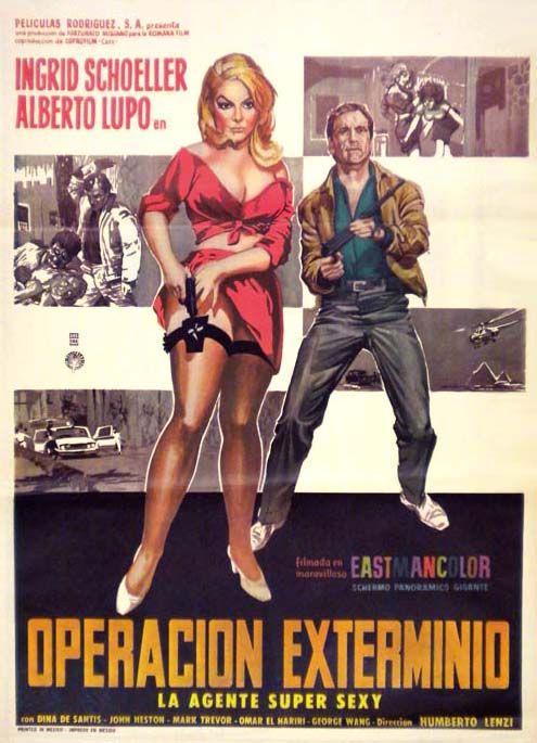 A 008 Operazione Sterminio 3 Sp Cinema Affiche Cinema Good Girl