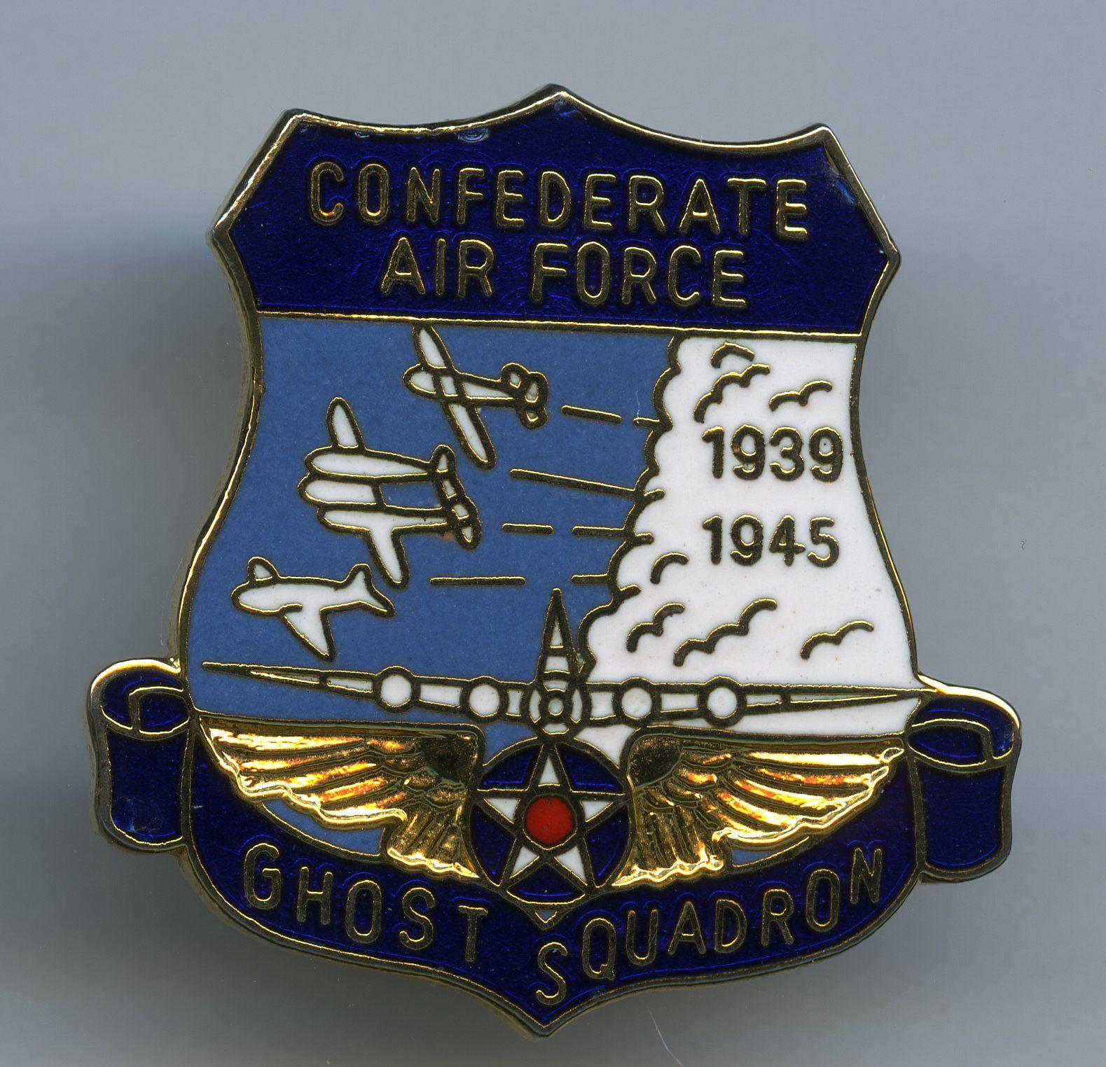 Confederate air force ghost squadron confederate air