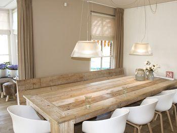 witte eetkamerstoelen - Google zoeken - home sweet home ...