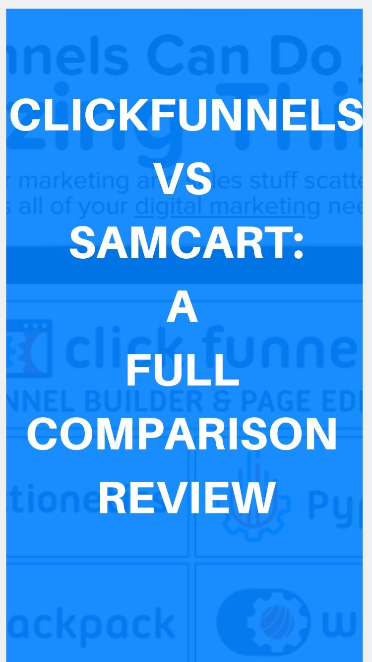 Landing Page Software Samcart Specifications Features