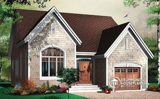 Looking for a small affordable house plan with garage open