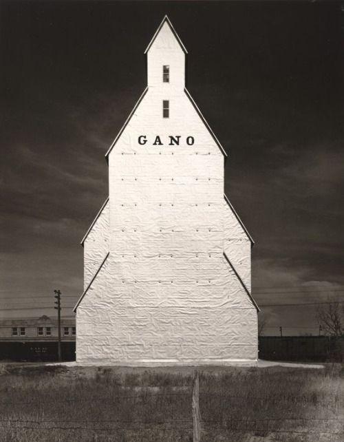 Pierre-Jean Maurel - Wright MorrisGano Grain Elevator Western Kansas 1940