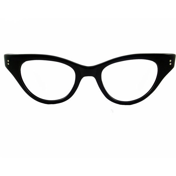 4684bd55757 Vintage 50s Cat Eye Glasses Frame Eyeglasses Sunglasses New ( 60) ❤ liked  on Polyvore