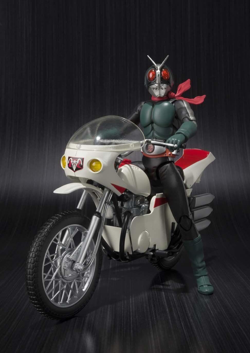 S.H.Figuarts Kamen Rider NEW CYCLONE Renewal Ver Action Vehicle BANDAI NEW
