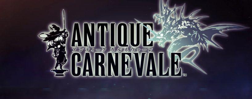 Antique Carnevale nuevo juego de Square Enix