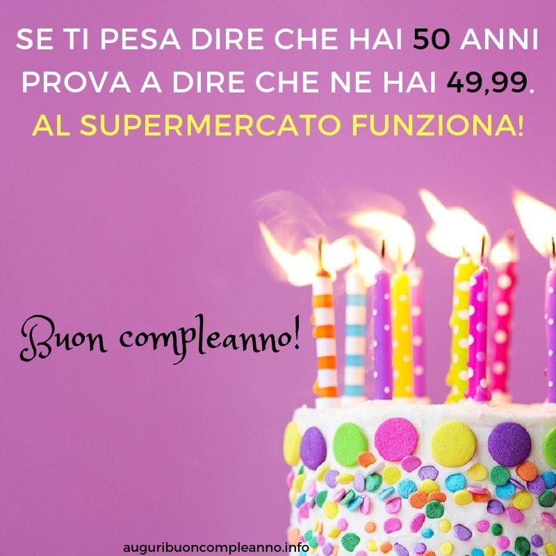 Auguri Buon Compleanno 53 Anni.Pin Su Auguri 50 Anni