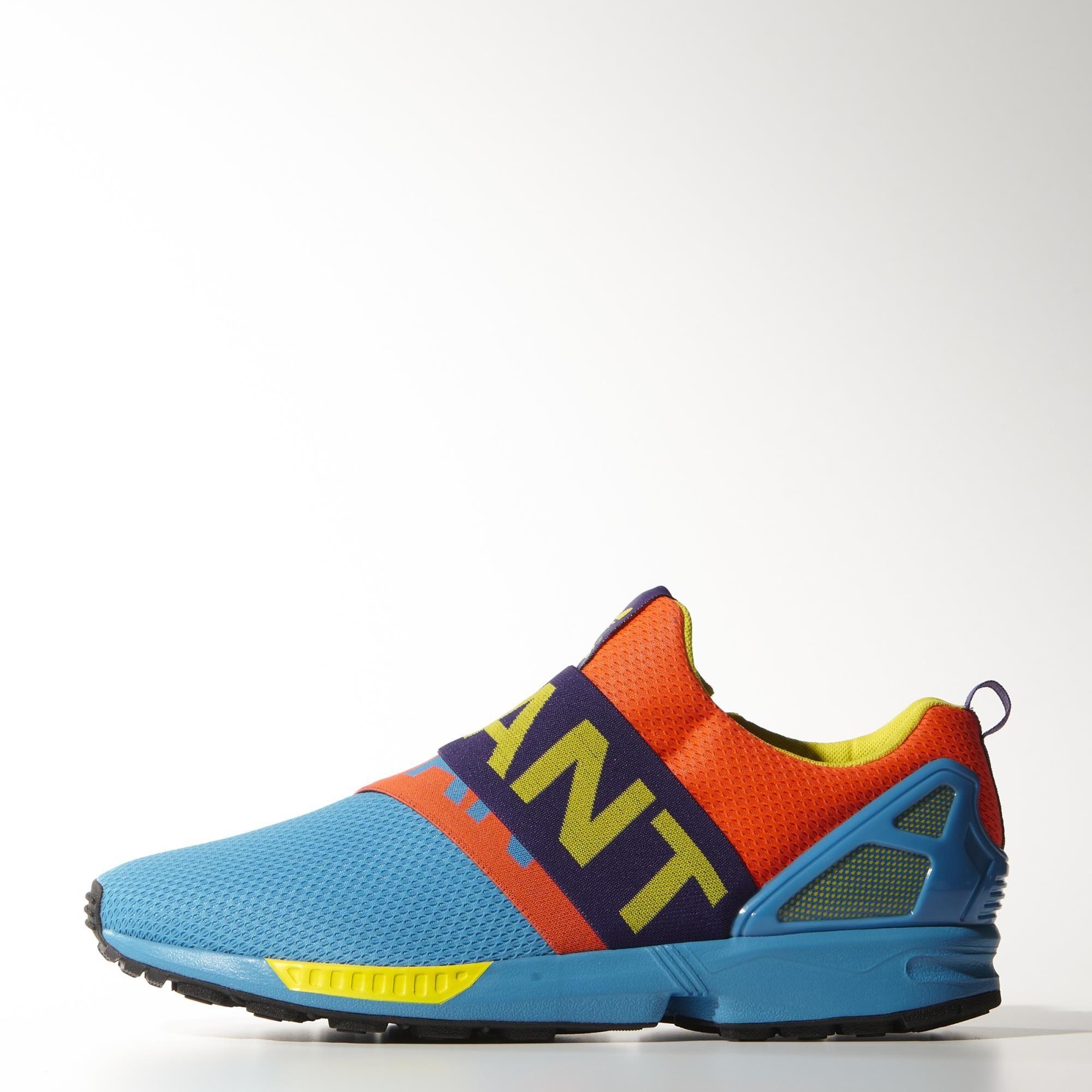 Zapatillas Casuales ZX Flux Slip On - Blue adidas