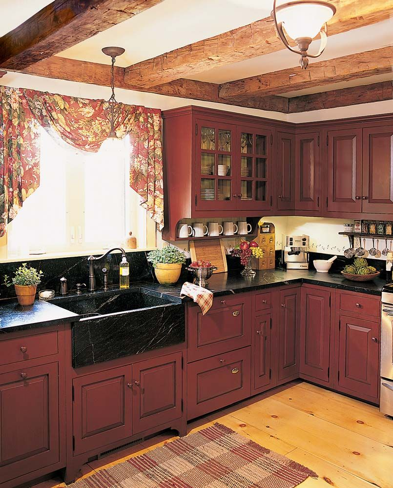 Love This Kitchen Except The Curtains Way To