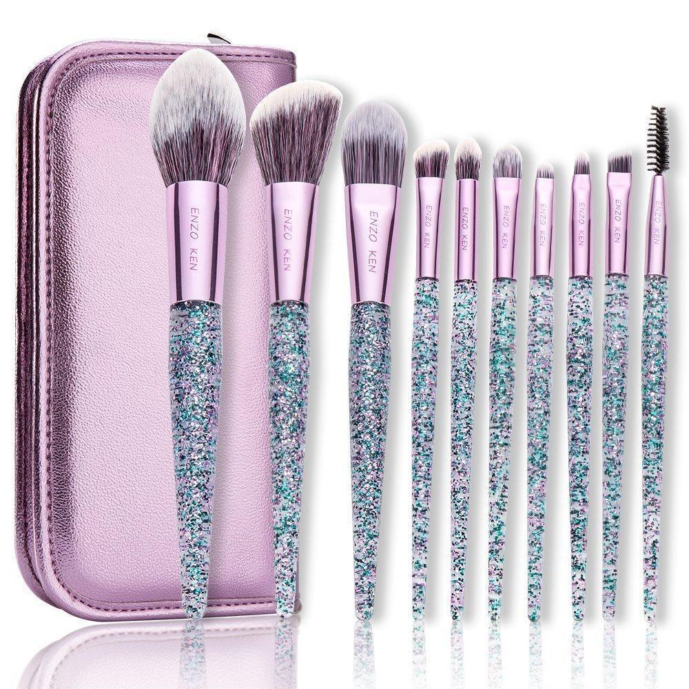 10Pcs/9pcs/8Pcs Foundation Blush Brush Powder Blending