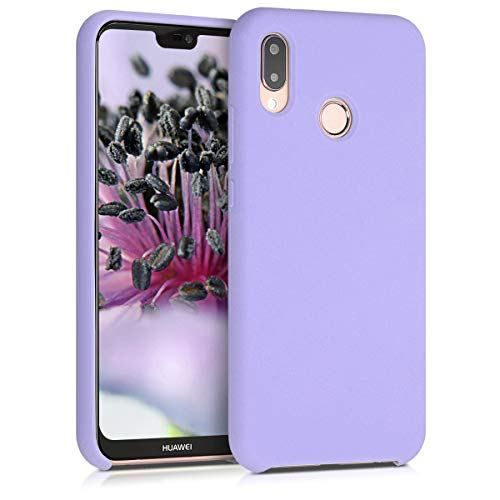 560ed931b kwmobile TPU Silicone Case for Huawei P20 Lite - Soft Flexible Rubber  Protective Cover - Lavender #267,481 in Cell Phones & Accessories #103,202  in Cell ...