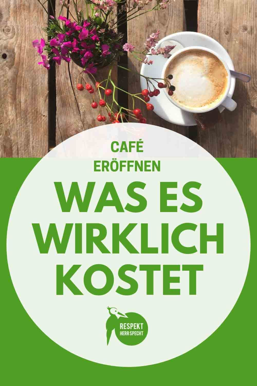 Café eröffnen: Diese Kosten kommen auf dich zu - mit Checkliste