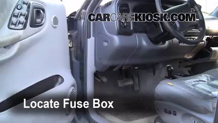 Interior Fuse Box Location: 1998-2003 Dodge Durango - 1999 Dodge ... 2006 dodge durango fuse box diagram pdf Pinterest