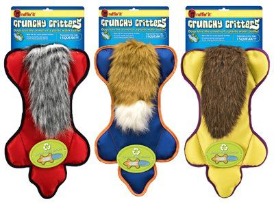 Ruffin It Crunchy Critter Dog Toy >>> Read more  at the image link. (This is an Amazon affiliate link)