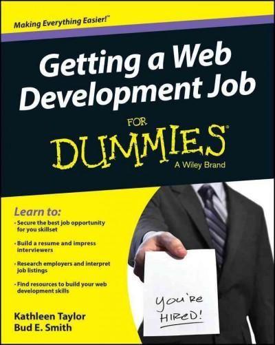 Getting a Web Development Job for Dummies (Paperback) - web developer job description