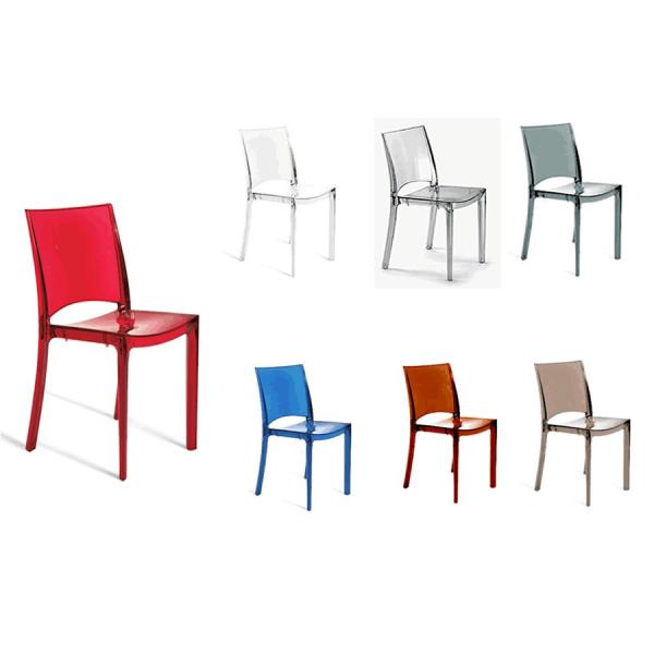 Vendita sedia policarbonato sedie b side impilabili da for Svendita sedie