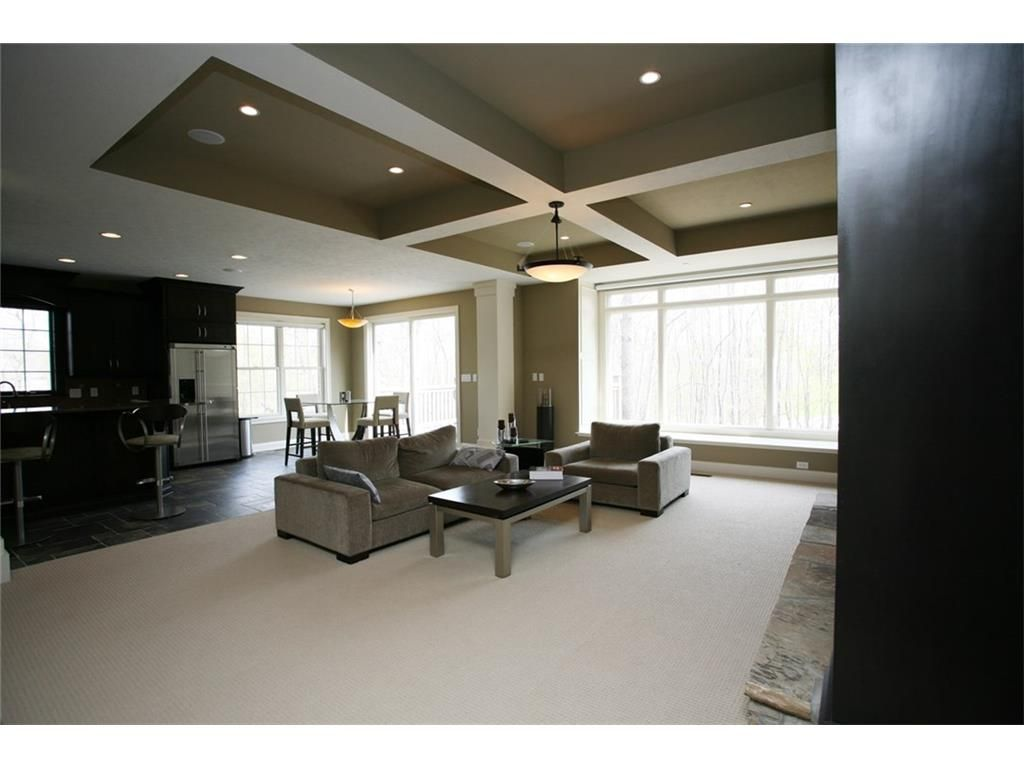 Luxury living room @ 925 Heathrow  Avon, IN, 46123