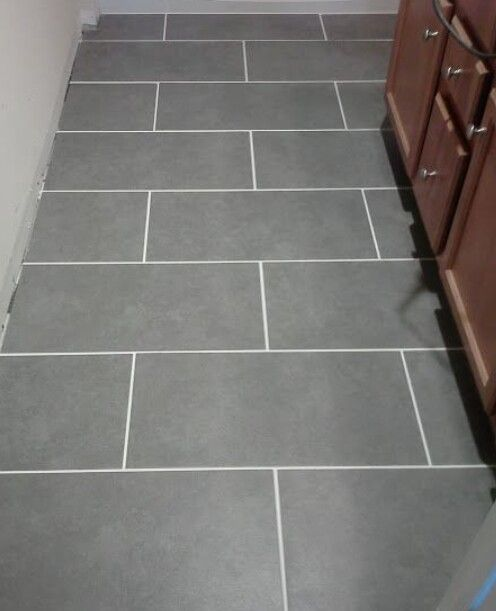 Grey Tile White Grout Bathroom Ideas Pinterest Grey Tiles