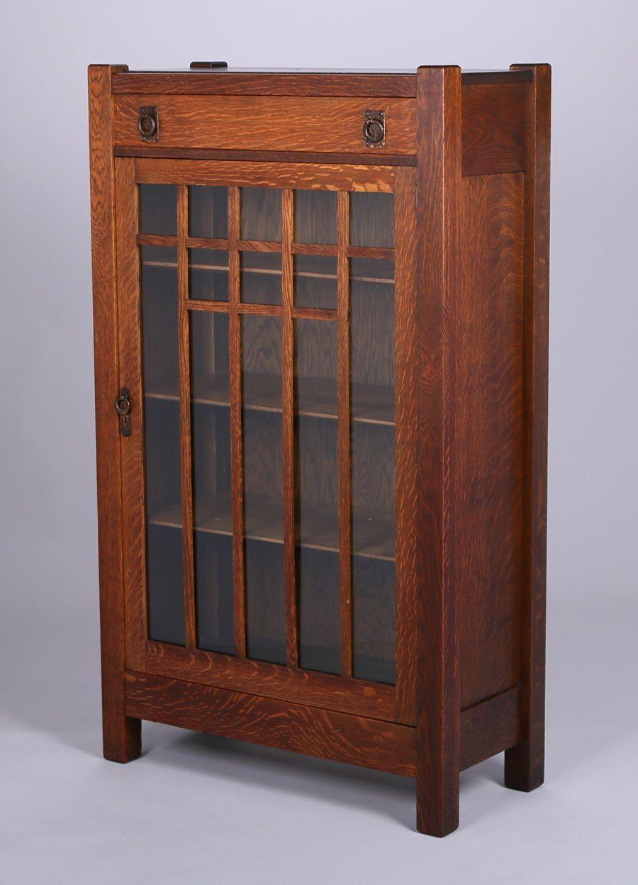 Lifetime Furniture Co One Door Bookcase Craftsman Furniture Craftsman Style Furniture Craftsman Style Decor