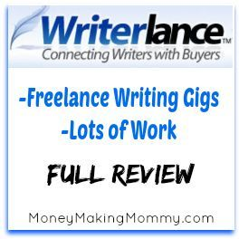 find online writing work at writerlance full review