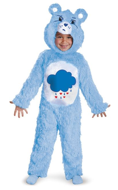 STOCK CLEARANCE BROWN CARE BEAR CUDDLE DELUXE HALLOWEEN COSTUME