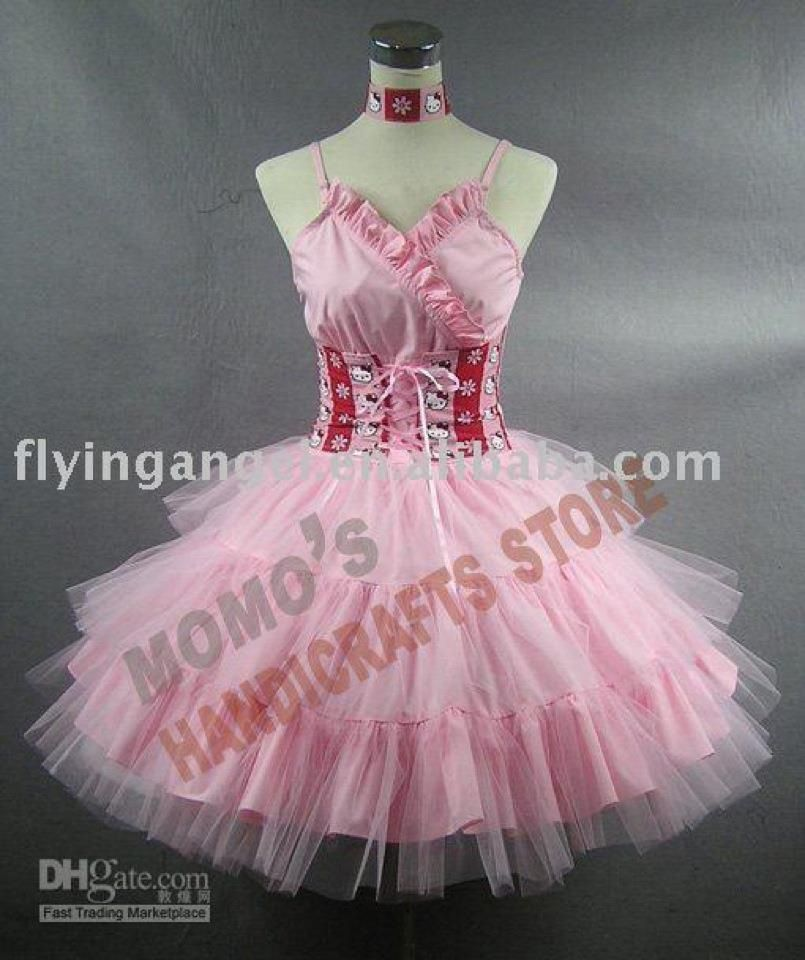 My BIG Fat Hellol Kitty Wedding Dress! | Hello Kitty | Pinterest ...