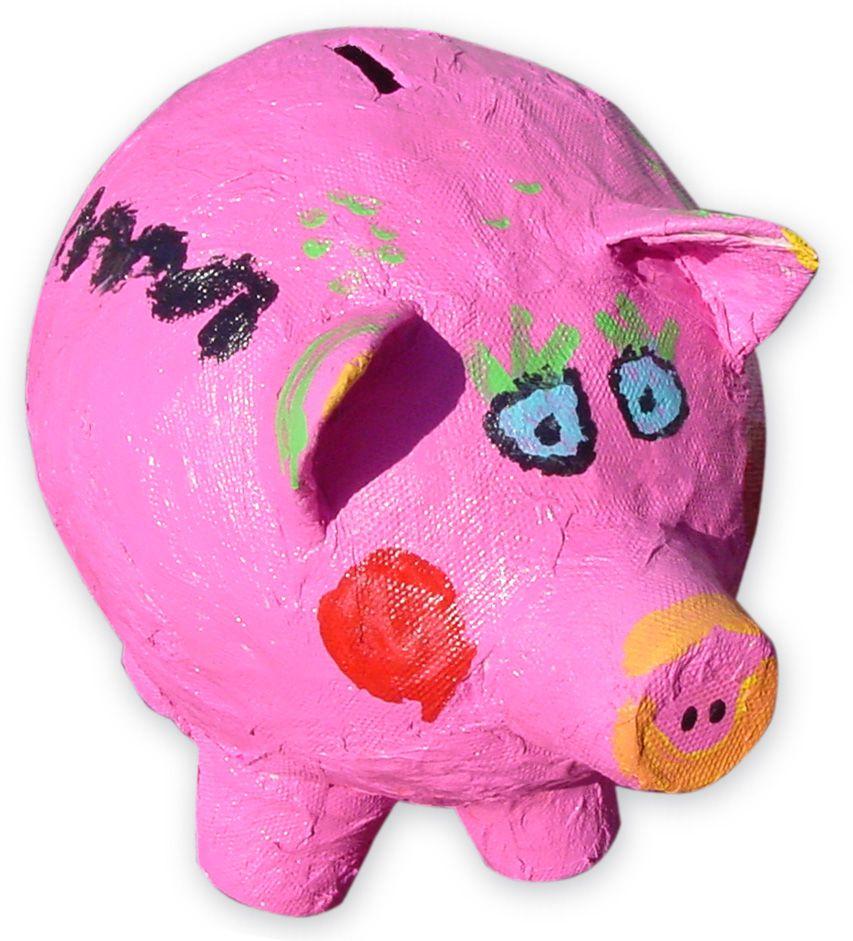 Paper Mache Craft Ideas For Kids Part - 18: Art Projects For Kids: Paper Mache Piggy Bank