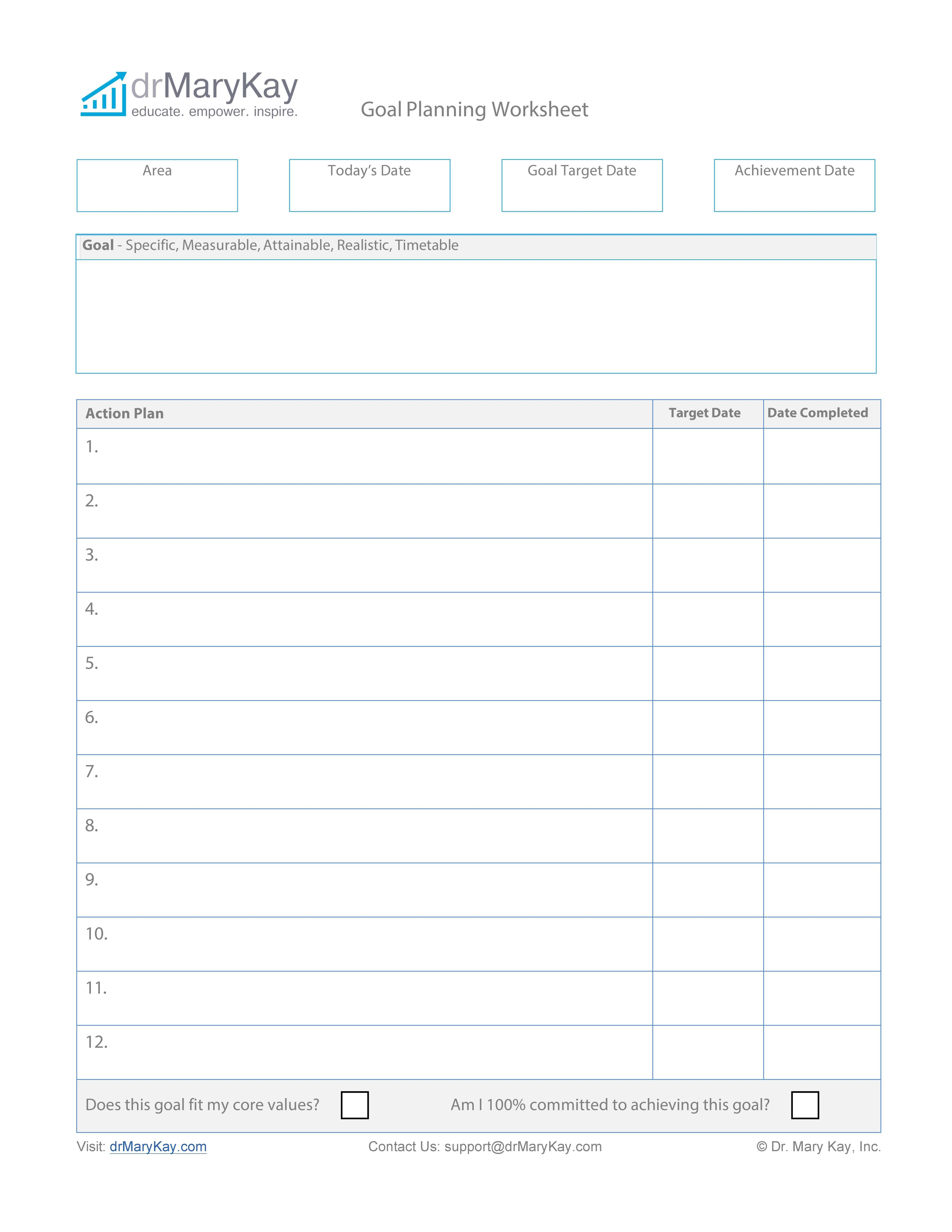 48 Smart Goals Templates Examples Amp Worksheets Quality Rfq