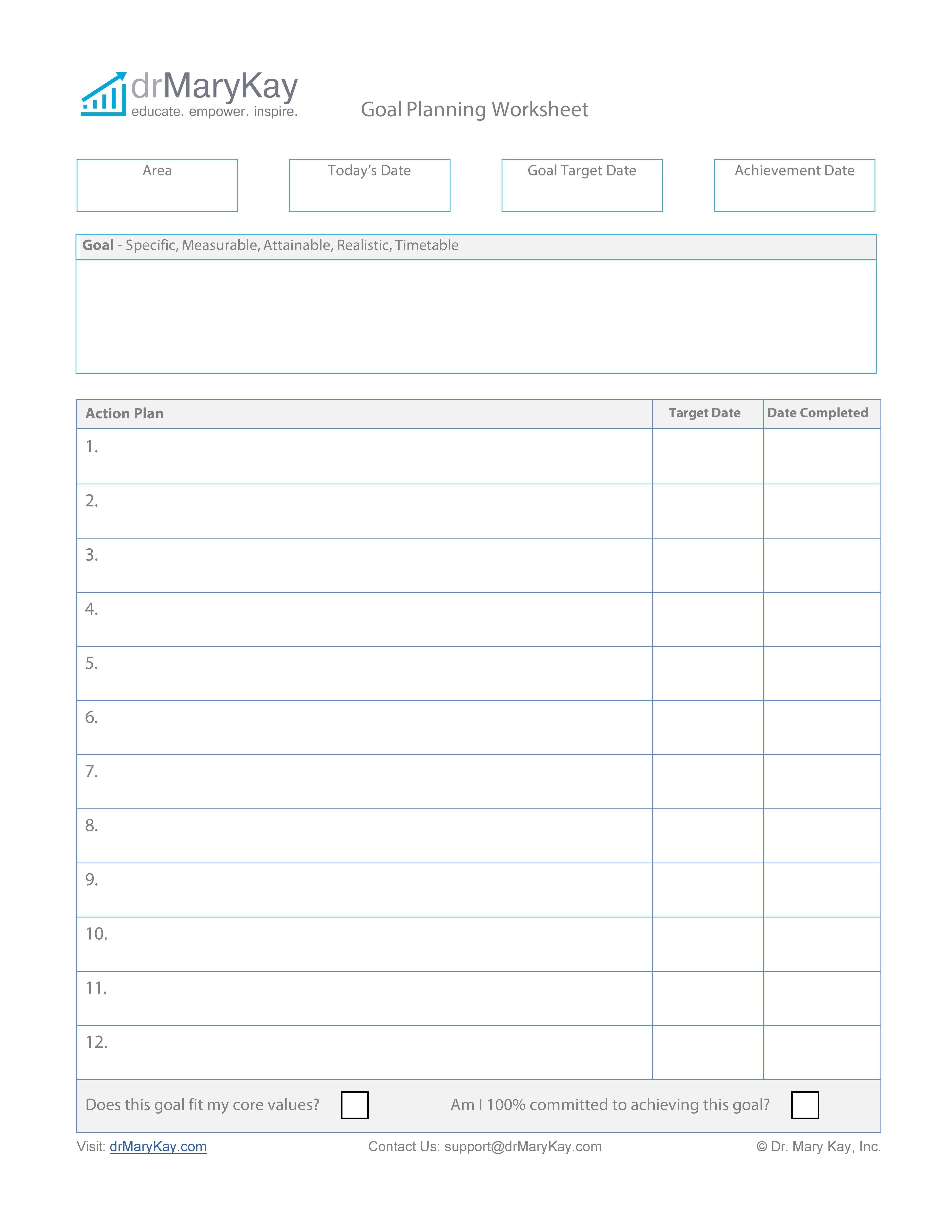 Download Smart Goals Template 35