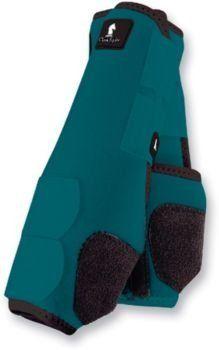 Tough-1 Set of 4 Medium Black Easy Breathe Mesh Sport Boots Horse Tack